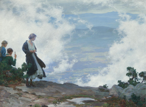 Art Prints of After the Storm by Charles Courtney Curran