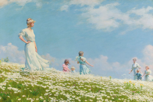 Art Prints of Summer by Charles Courtney Curran