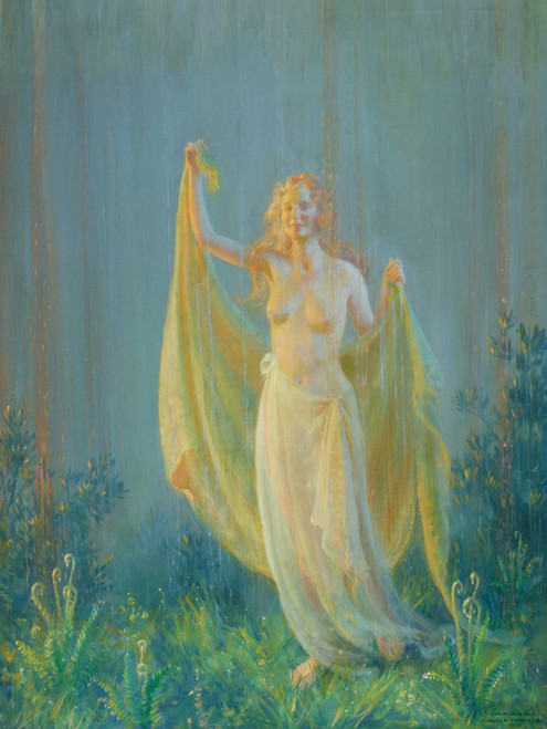 Art Prints of Sunshine and Rain by Charles Courtney Curran