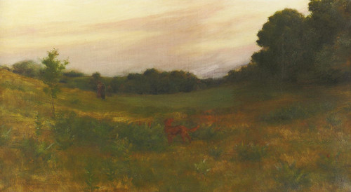 Art Prints of Twilight by Charles Courtney Curran