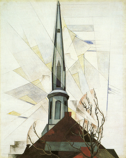 Art Prints of In the Province by Charles Demuth