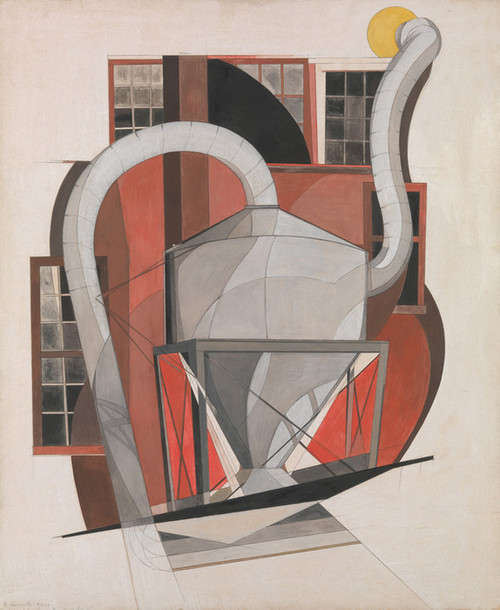 Art Prints of Machinery by Charles Demuth