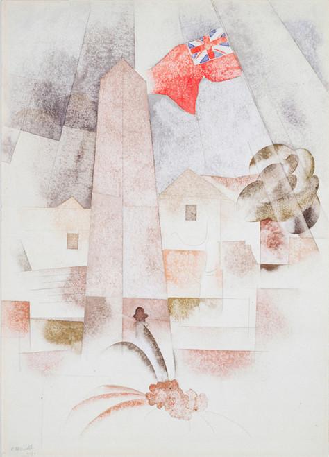 Art Prints of Monument, Bermuda by Charles Demuth