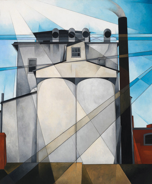 Art Prints of My Egypt, 1927 by Charles Demuth