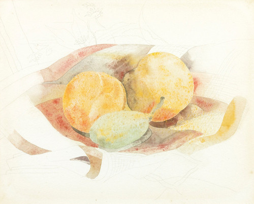 Art Prints of Peaches and Fig by Charles Demuth