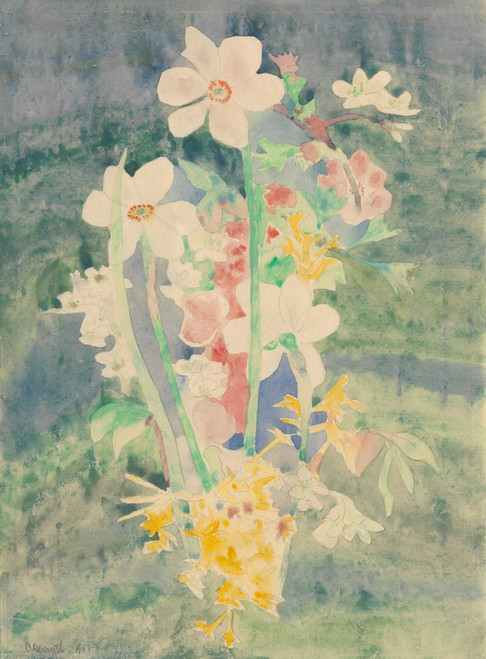 Art Prints of Narcissi by Charles Demuth