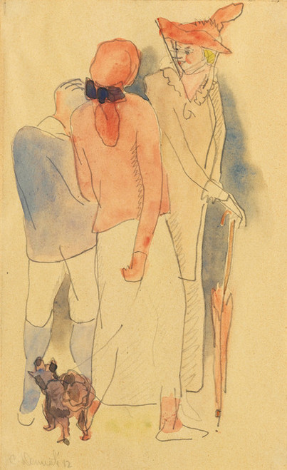 Art Prints of Strolling by Charles Demuth