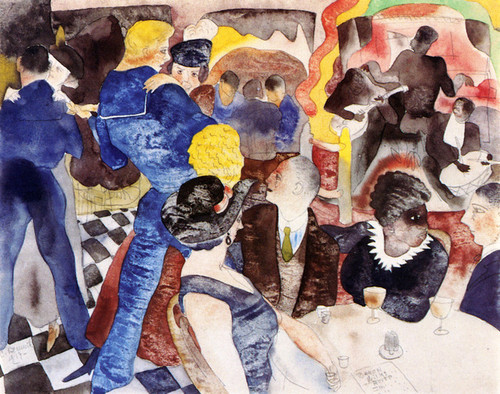 Art Prints of The Cabaret by Charles Demuth