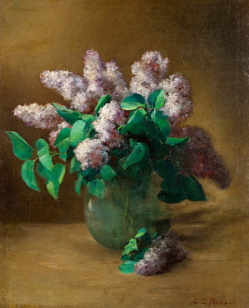 Art Prints of Lilacs by Charles Ethan Porter