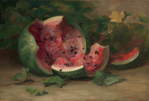 Art Prints of Cracked Watermelon by Charles Ethan Porter