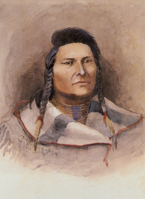 Art Prints of Chief Joseph by Charles Marion Russell