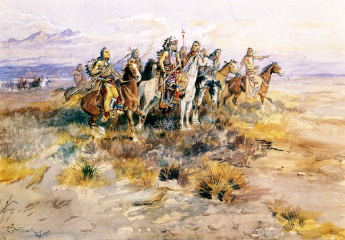 Art Prints of Scouting Party by Charles Marion Russell