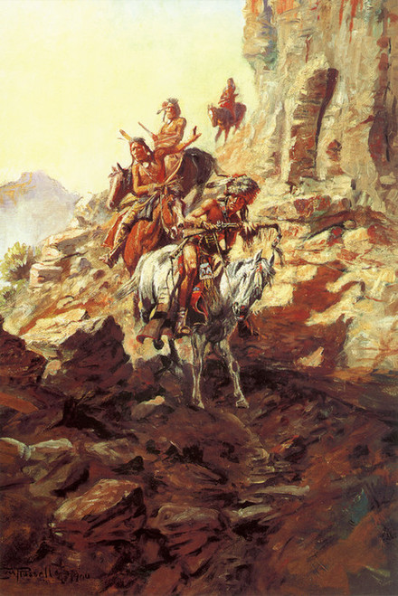 Art Prints of Scouting Party II by Charles Marion Russell