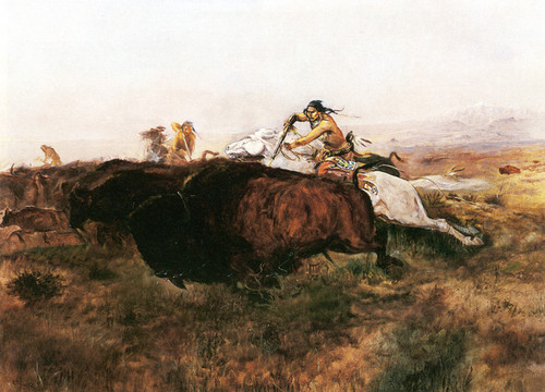 Art Prints of Buffalo Hunt, No. 10 by Charles Marion Russell