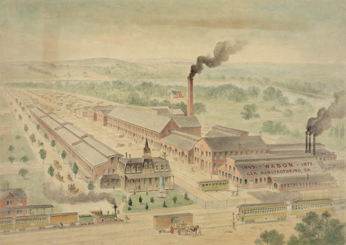 Art Prints of Wason Car Manufacturing Co. (23150L) by Charles Parsons