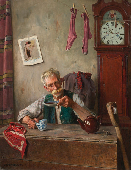 Art Prints of Tea Time by Charles Spencelayh