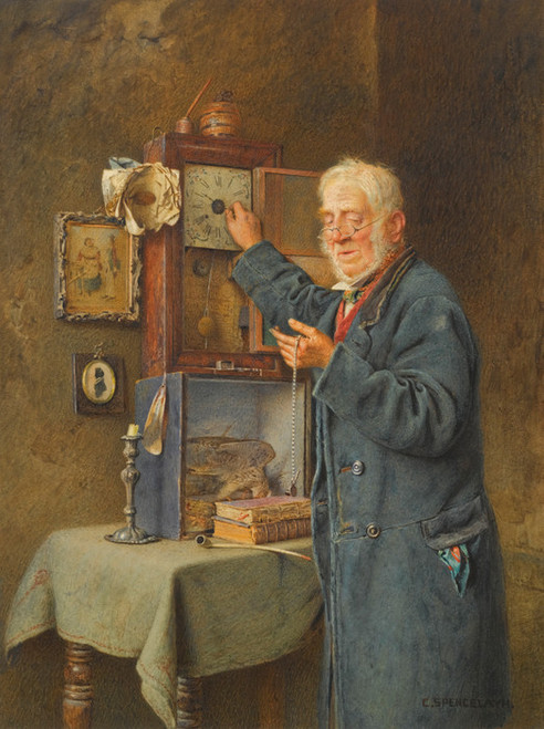 Art Prints of Greenwich Time by Charles Spencelayh