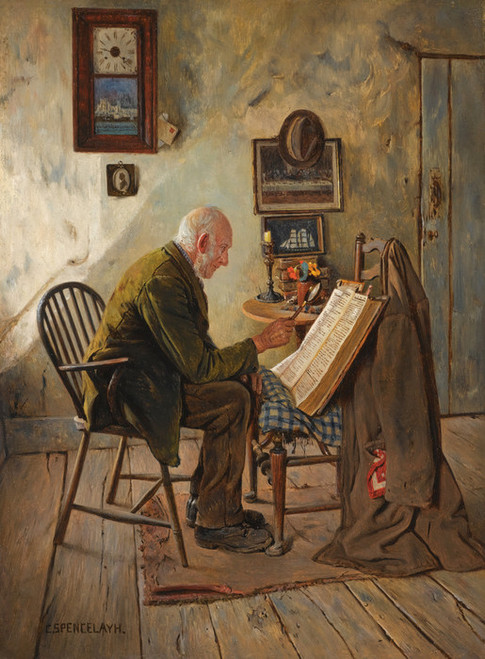 Art Prints of The Morning Chapter by Charles Spencelayh