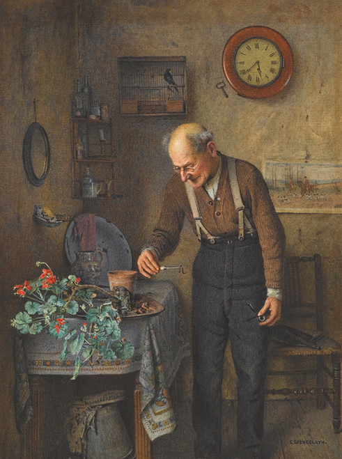 Art Prints of The Early Bird by Charles Spencelayh