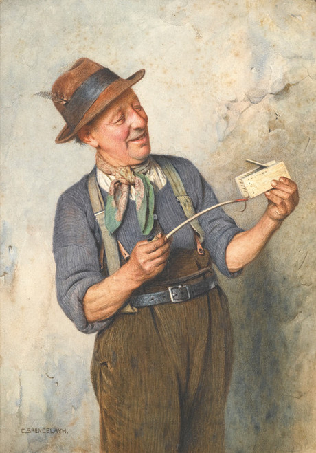 Art Prints of Wake Up by Charles Spencelayh