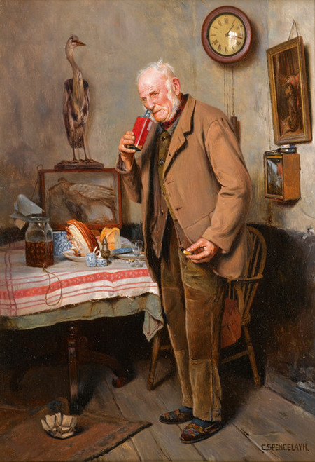 Art Prints of Sure to Cure by Charles Spencelayh