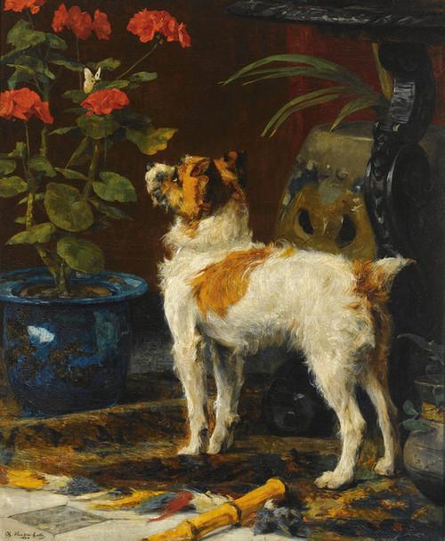 Art Prints of Watchful by Charles Van den Eycken