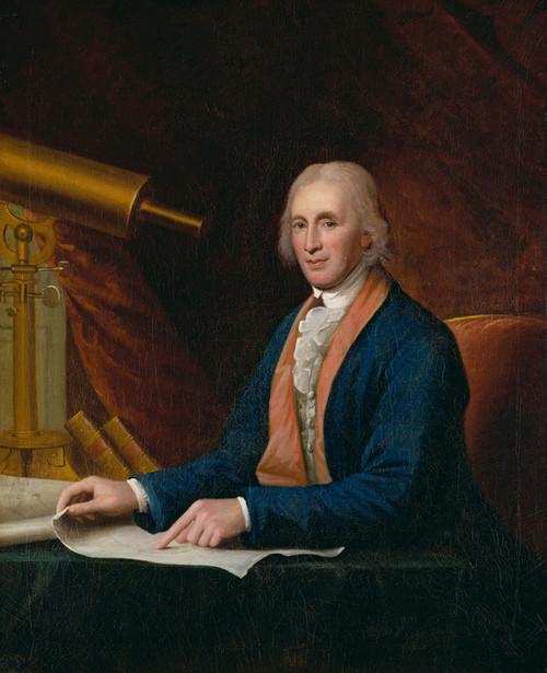 Art Prints of David Rittenhouse by Charles Willson Peale
