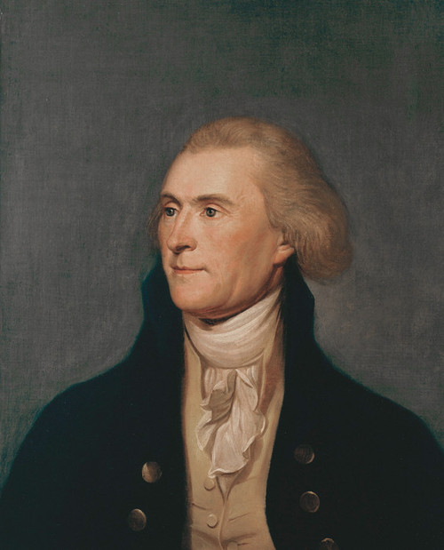 Art Prints of Thomas Jefferson by Charles Willson Peale