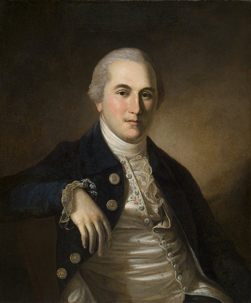 Art Prints of Portrait of Robert Hazelhurst by Charles Willson Peale