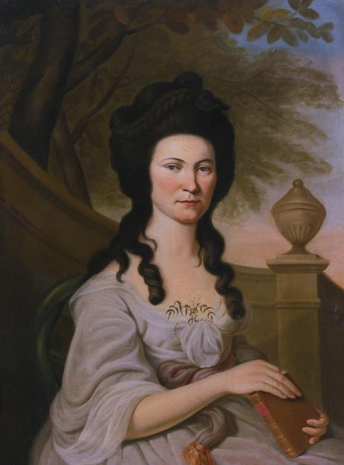 Art Prints of Mrs. Jane Hunter Ewing by Charles Willson Peale