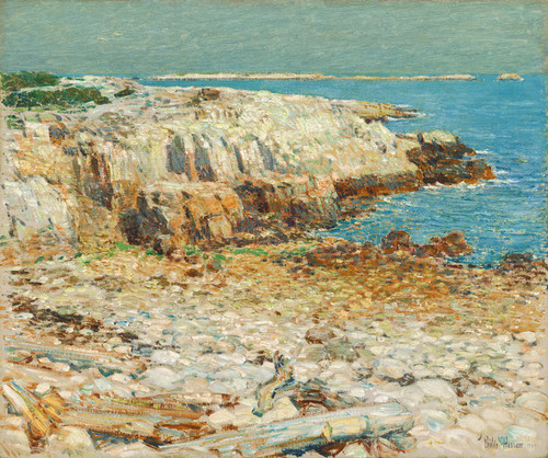 Art Prints of A North-East Headland by Childe Hassam