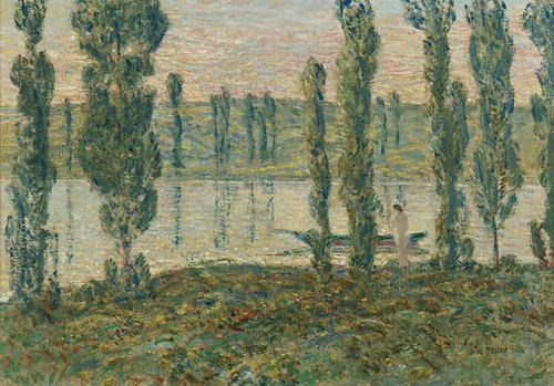 Art Prints of Evening on the River by Childe Hassam