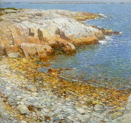 Art Prints of Isle of Shoals, Broad Cove II by Childe Hassam