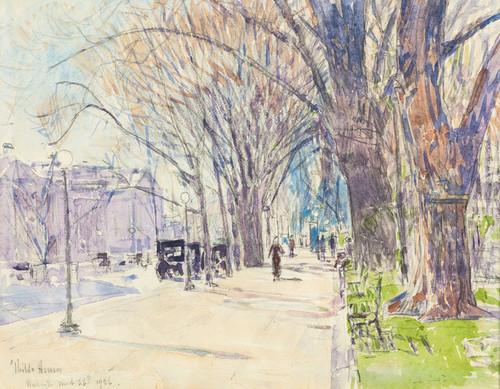 Art Prints of Lafayette Park, Washington D.C. by Childe Hassam
