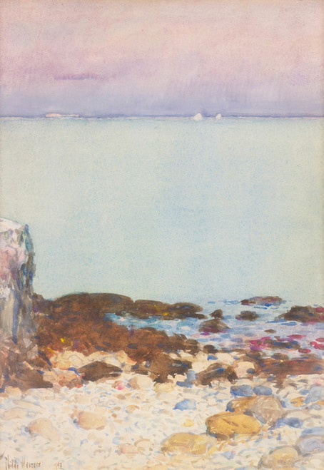 Art Prints of Low Tide, Isle of Shoals by Childe Hassam