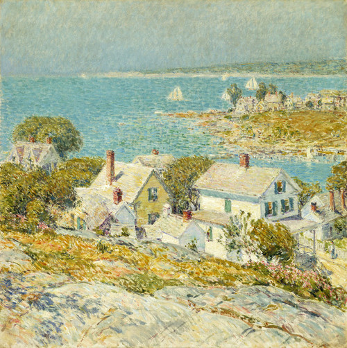 Art Prints of New England Headlands, 1889 by Childe Hassam