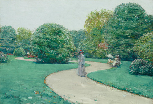 Art Prints of Parc Monceaux, Paris by Childe Hassam