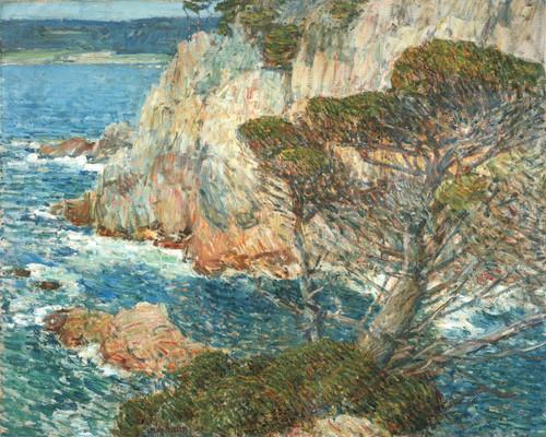 Art Prints of Point Lobos, Carmel by Childe Hassam