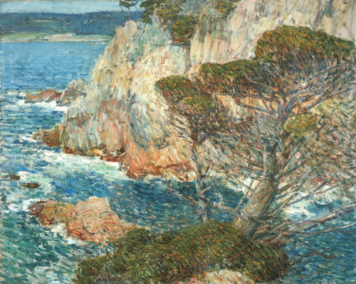 Art Prints of Point Lobos, Carmel by Childe Hassam