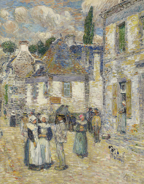 Art Prints of Aven Pont, 1897 by Childe Hassam