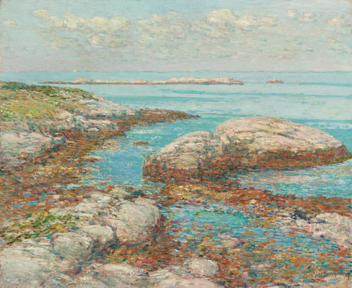 Art Prints of Rocks at Appledore by Childe Hassam