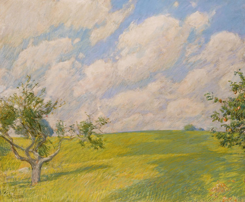Art Prints of September Clouds by Childe Hassam