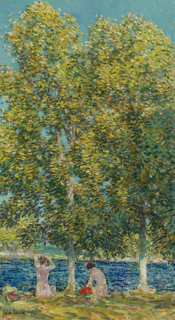 Art Prints of The Bathers by Childe Hassam