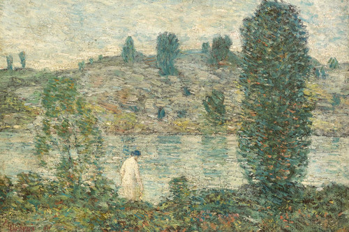 Art Prints of Summer Afternoon by Childe Hassam
