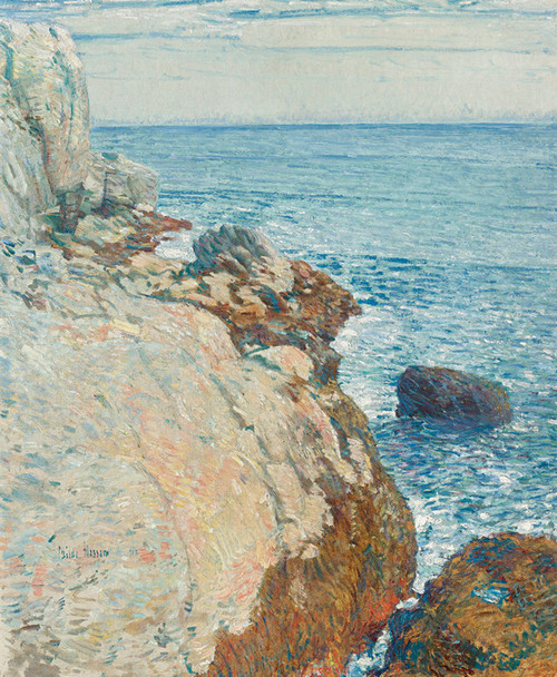 Art Prints of The East Headlands Appledore, Isle of Shoals by Childe Hassam