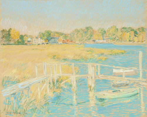 Art Prints of Up the River, 1906 by Childe Hassam
