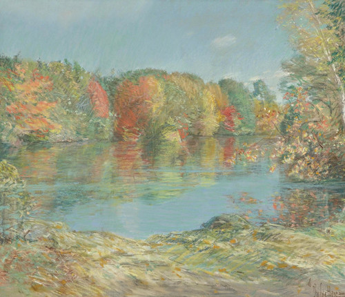 Art Prints of Walden Pond by Childe Hassam