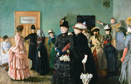 Art Prints of Albertine to See the Police Surgeon by Christian Krohg
