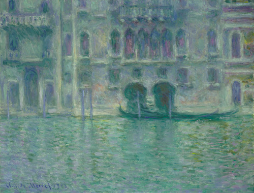 Art Prints of Palazzo da Mula, Venice by Claude Monet