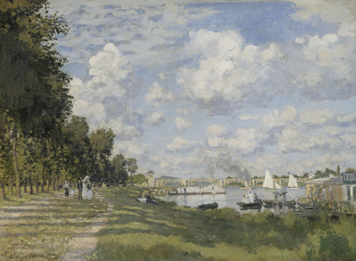 Art Prints of Le bassin d'Argenteuil by Claude Monet